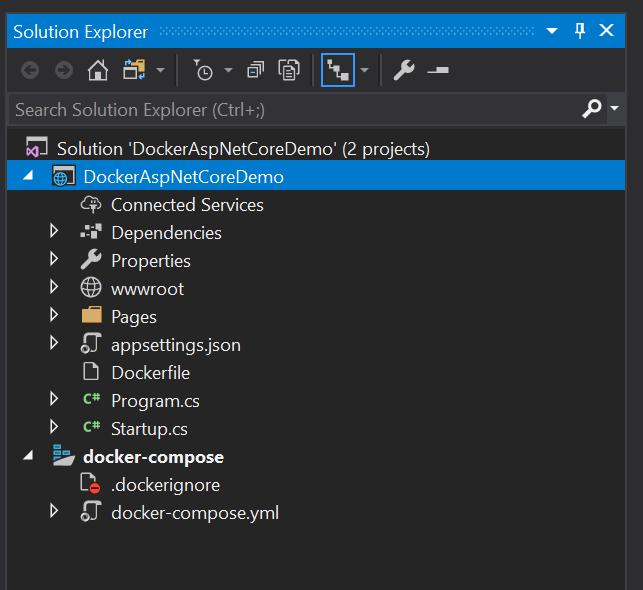 docker-demo-solution-view
