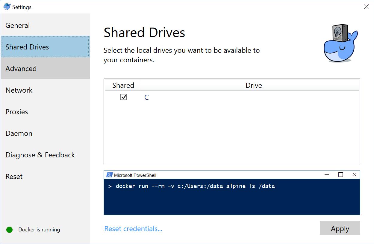 docker-shared-drives