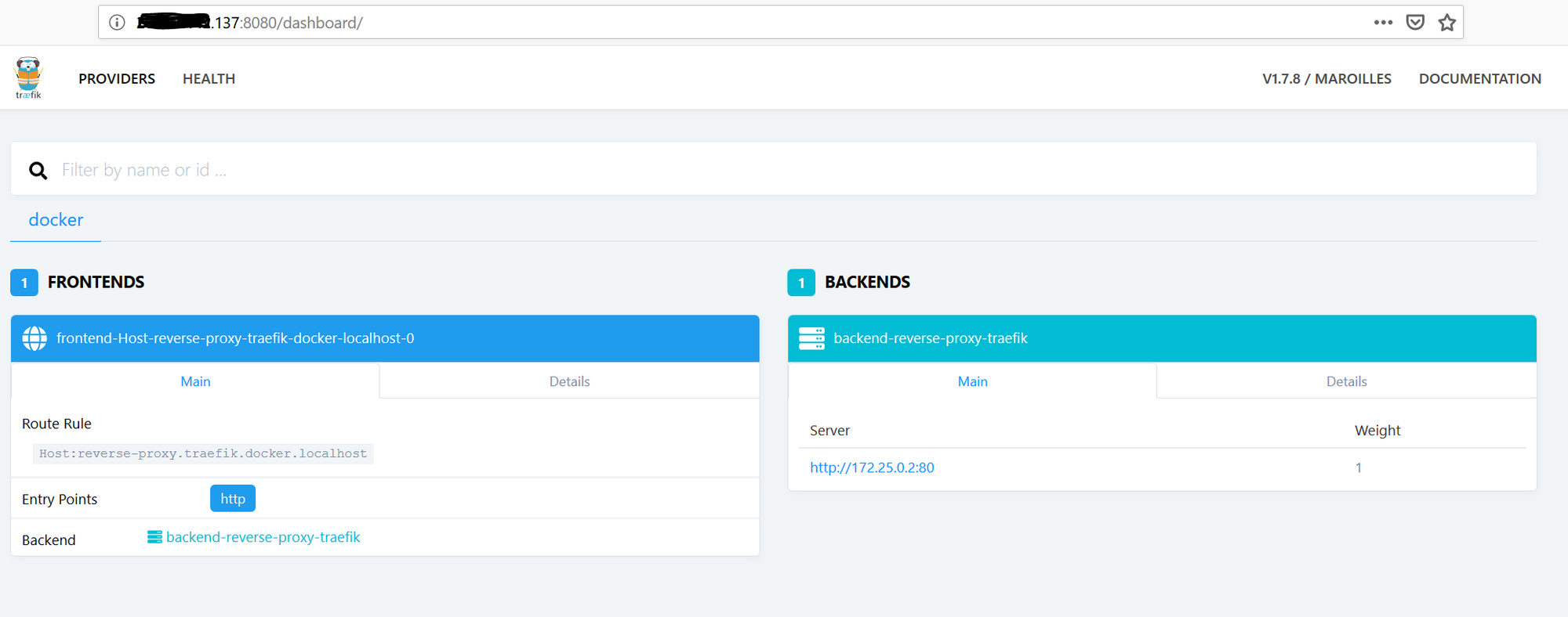Getting started with Traefik as an alternative and easy to
