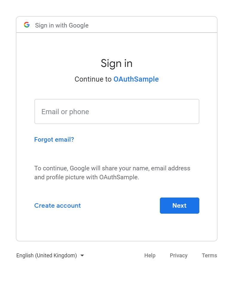 OAuth-google-auth