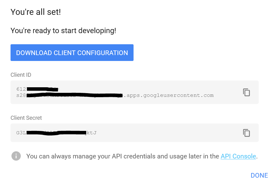 OAuth-google-signin-creds