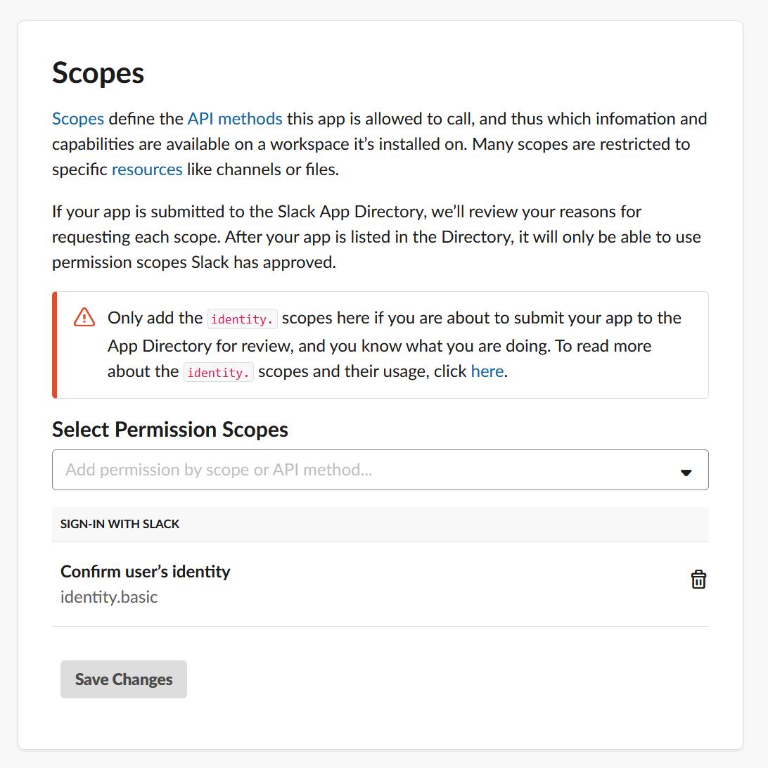 OAuth-slack-scopes