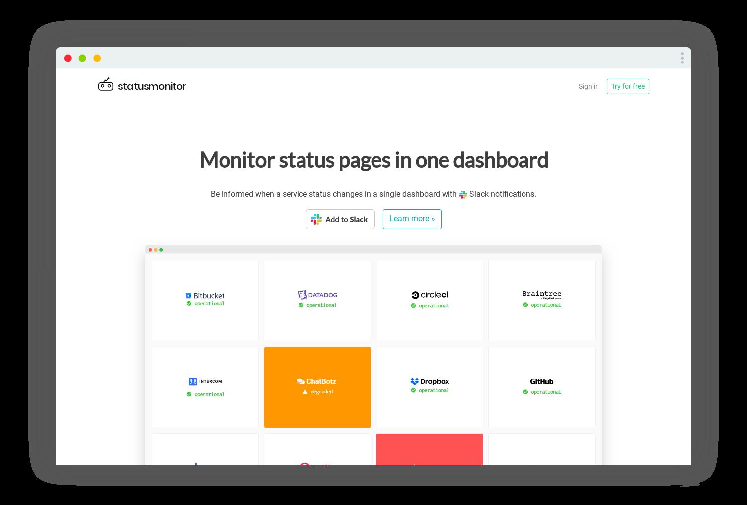 statusmonitor_app_screenshot