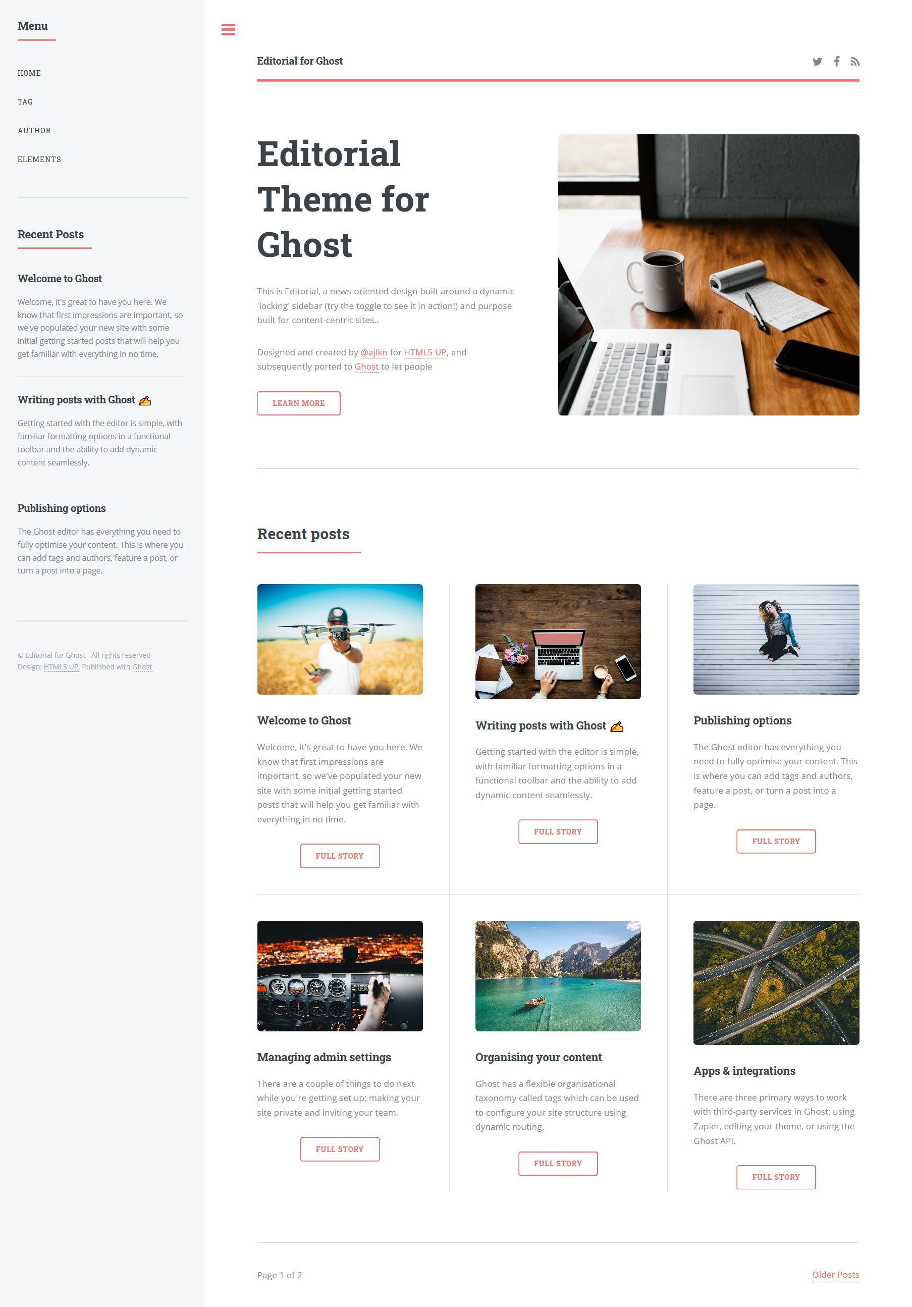 editorial-ghost-theme-1