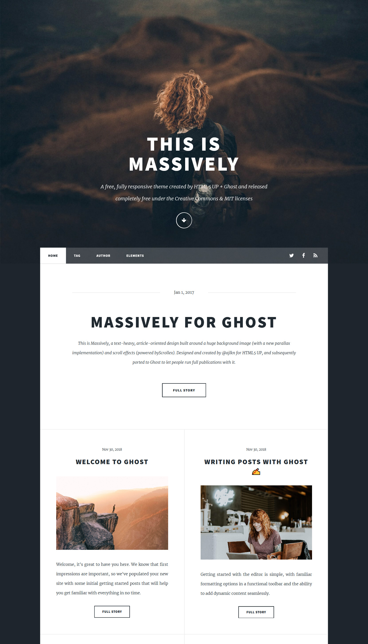 massively-ghost-theme